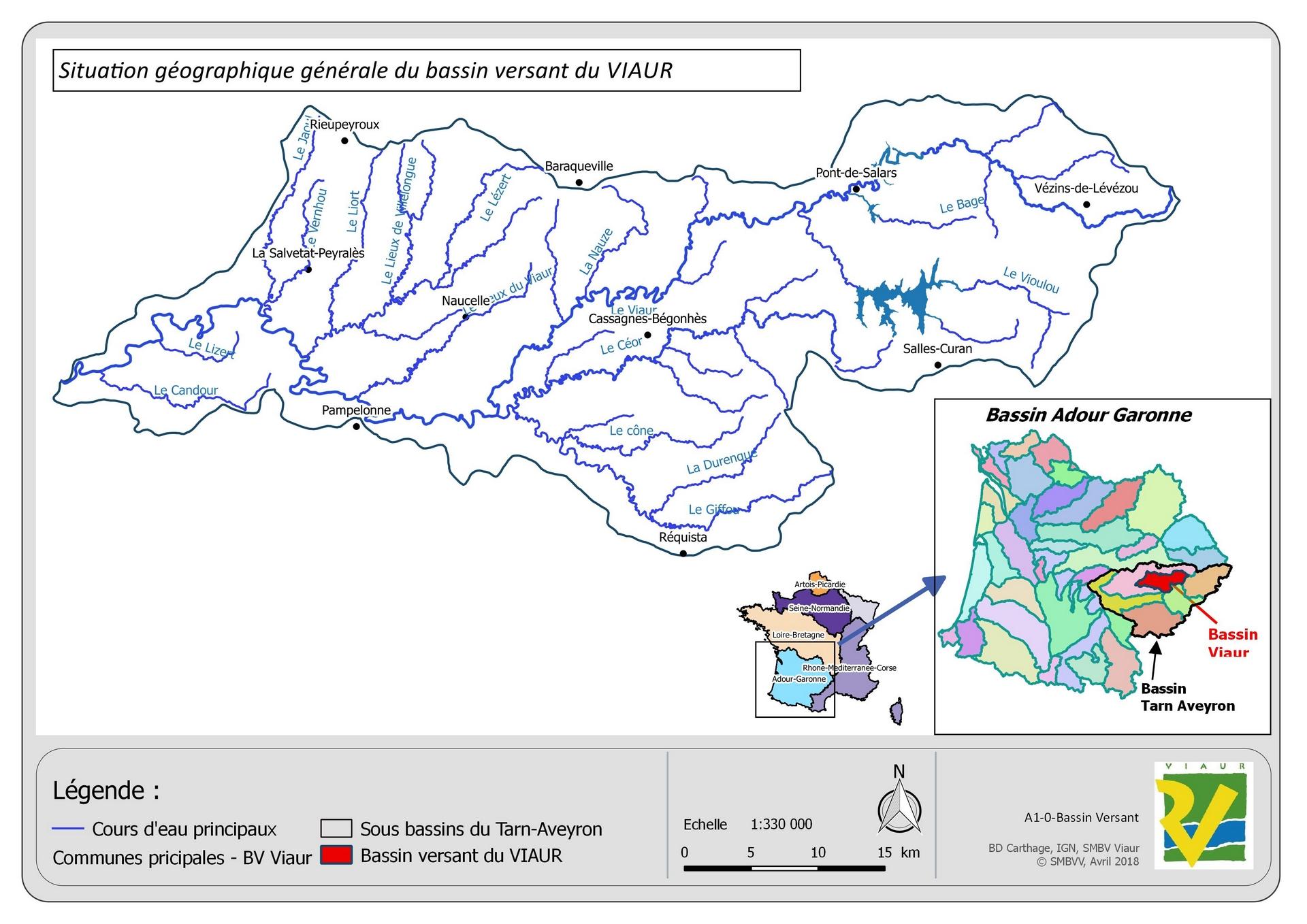 Situation géographique générale