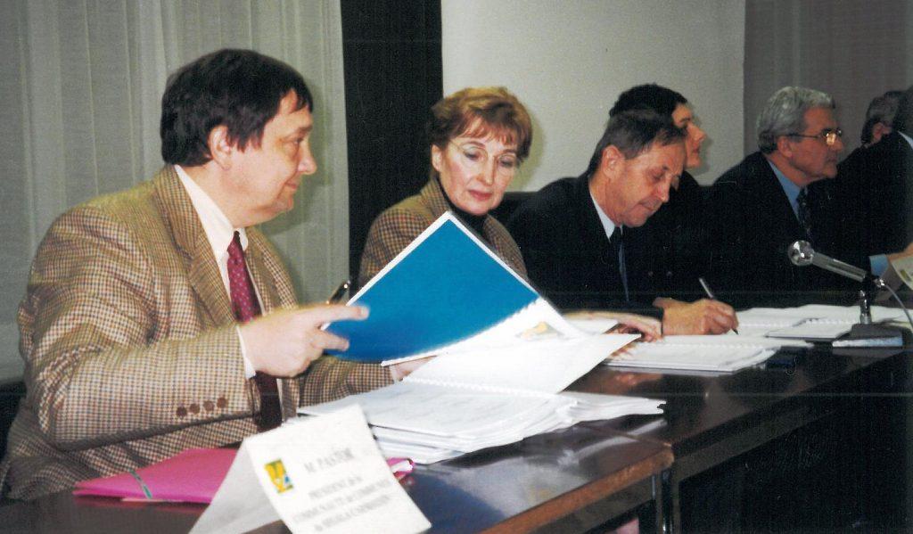 Signature du Contrat de Rivière Viaur 1 - Année 2000