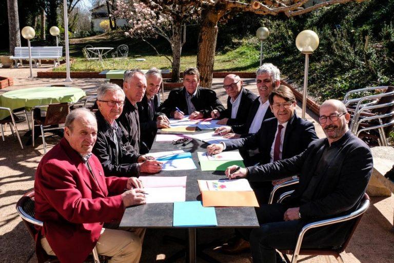 Les Présidents des Syndicats de bassins