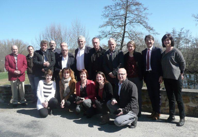 Les Présidents et Directeurs des syndicats de bassin