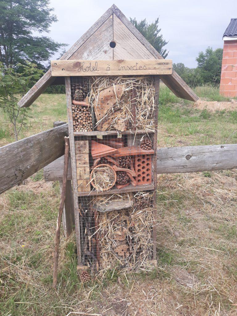 Hôtel à Insectes -École primaire de Tanus