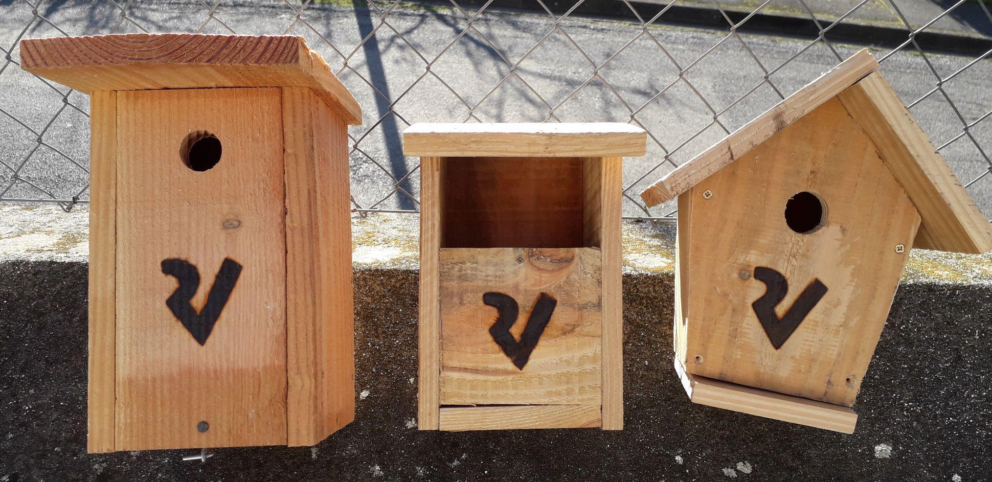 Des nichoirs pour les oiseaux du Viaur !