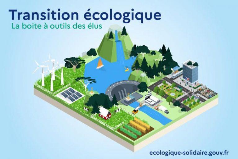 Transition écologique : boîte à outils des élus