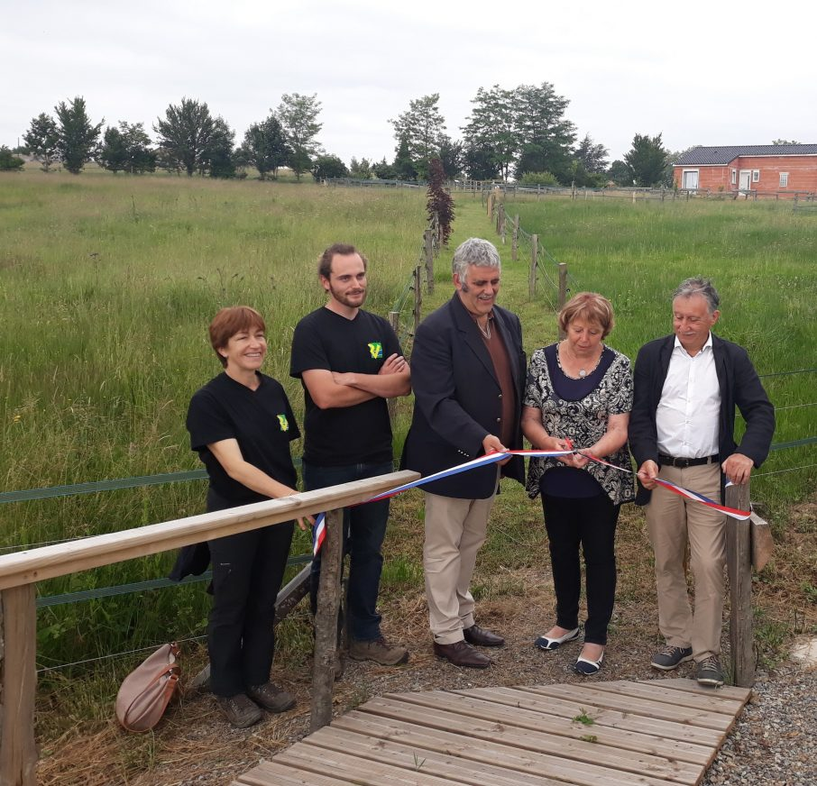 Inauguration de la Zone Naturelle - Tanus